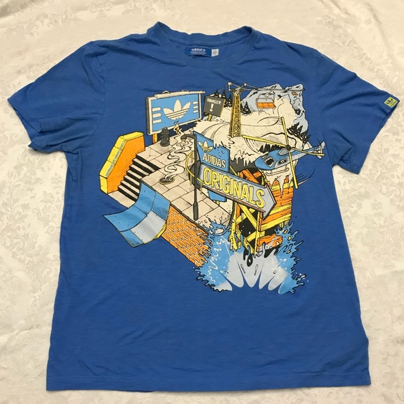 look out for big discount 2018 shoes adidas - Old School - T-Shirt